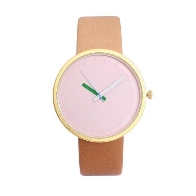 2018Fashion Brand Double Strap Watch Neutral Personality Simple Unique Wrist Wat
