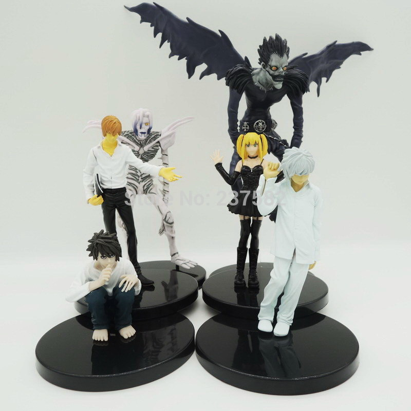 """Free Shipping 6pcs/lot 7"""" 18cm Death Note Deathnote Light"""