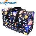 CHUWANGLIN LY70802 Kip estilo de dobramento de Grande capacidade saco de viagem portátil à prova d' água das mulheres sacolas frete grátis
