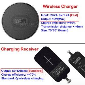 Image 2 - Nillkin Qi 무선 충전기 + 유형 C 수신기 USB C 어댑터 삼성 A6s A9s A8 2018 A5 2017 용 무선 충전