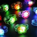 Dos desenhos animados LED Night Light Lamp Decoração Festa de Natal Coloridas Luzes Da Noite Led Lâmpada Para As Crianças Presentes Do Bebê Envio Aleatório