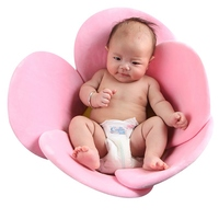 Baby Shower Portable Air Cushion Bed Babies 0 3Y Infant Baby Flower Bath Pad Non Slip Bathtub Mat Safety Security Bath Tubs