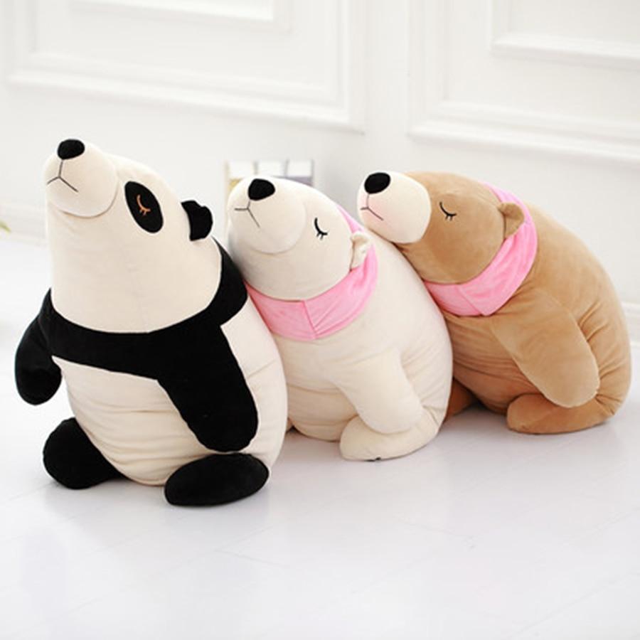 Polar Bear Stuffed Animal Plush Toy Soft Pillow Valentine