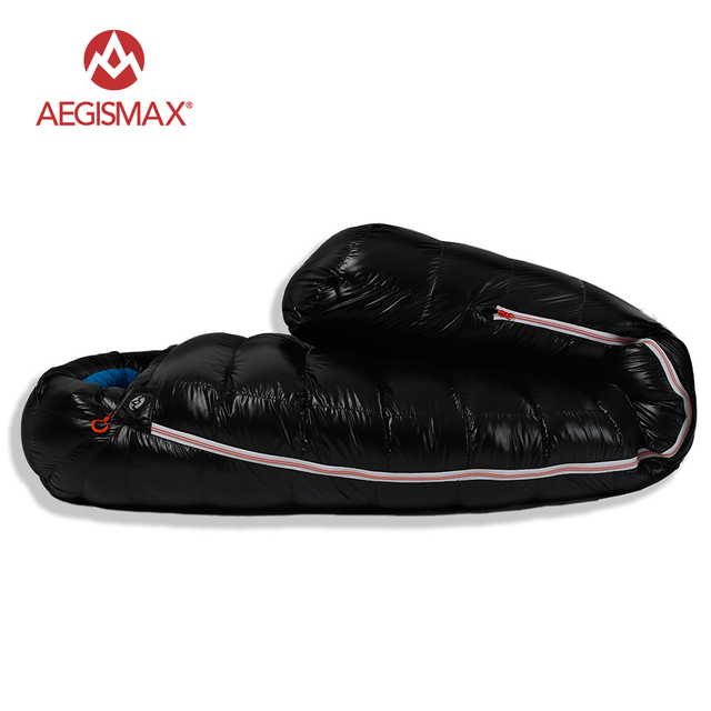 AEGISMAX D Duck Down Sleeping Bag Ultralight Mummy 2