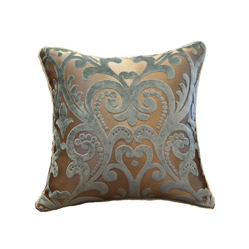 Dekoratív dobó párnahuzat Párnahuzat Lakberendezés Almofada Cojines Decorativos javasolja az európai stílusú luxus kanapét
