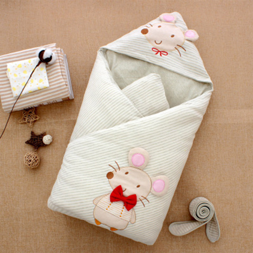 Autumn Baby Blanket Newborn Swaddle Wrap Blankets Super Soft Cotton Knit Crib Sleeping Bed Supplies Photography Prop Swaddle exclusive fruit strawberry knit wool blankets baby blanket wraps newborn baby blankets cotton travel sleeping blanket 90x110cm