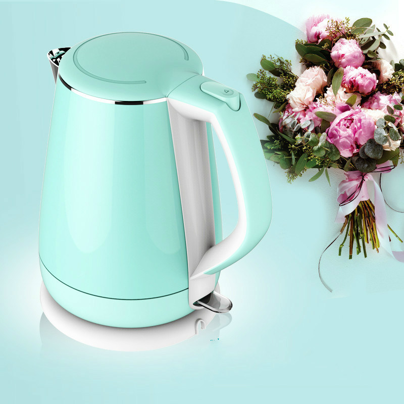 electric kettle USES 304 stainless steel thermal insulation  automatic power Safety Auto-Off Functionelectric kettle USES 304 stainless steel thermal insulation  automatic power Safety Auto-Off Function