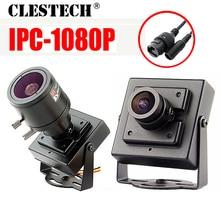 New HD CCTV digital Mini Metal iP Camera 1080P 720P 2mp P2P 2.8mm Super Small P2P ONVIF Internal Micro video webcam with bracket