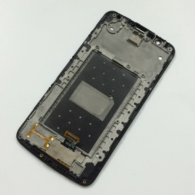 For LG K10 LTE K430 K430DS K410 K420 K420n LCD Display Panel + Touch Screen Digitizer Glass Assembly With Frame