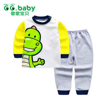 Winter Newborn Baby Boy Clothing Set Cotton Baby Boys Set Clothes Long Sleeve Autumn Toddler Baby Kids Sets Boy Outfits Pajamas
