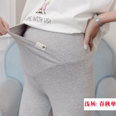 low waistMaternity Skinny Leggings 2019 Winter Maternity Clothes Thick Cashmere Pregnancy Autumn Pants for Pregnant Women SH 013 in Leggings from Mother Kids