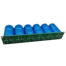 Condensador Farad de 2,7 V, 500F, 6 piezas/1 Juego, gran capacidad, con panel protector, condensadores Automotrices