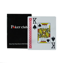 Texas Holdem Plastic playing card game poker cards Waterproof and dull polish poker club Board games,High quality big word cards