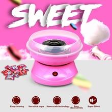 Mini portátil eléctrica DIY dulces máquina de algodón de azúcar algodón suager máquina de LA UE EE.UU. 110 V 220 V niños niña niño regalo de los niños día