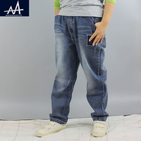 Frühling Herbst Großen Jungen Hosen Jeans Kinder Jeans Hosen 10Y Jungen Hosen Mode Kinder Kinder Jeans Größere Hosen für junge