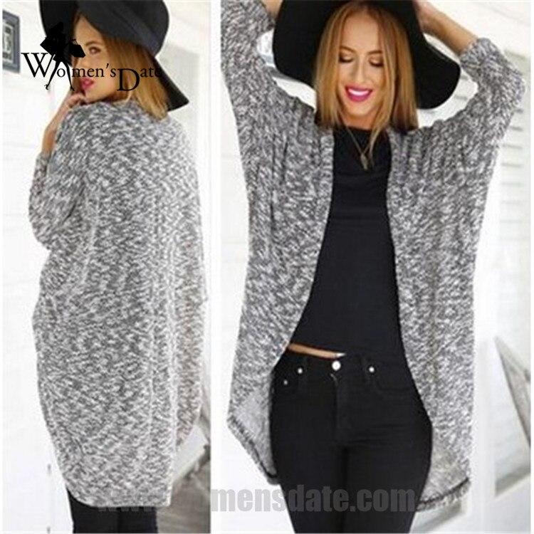 5397f647db5cb WomensDate Fashion Spring Women Loose Long Sleeve Thin Cardigan Sweaters  Coat Knitting Sweaters For Women