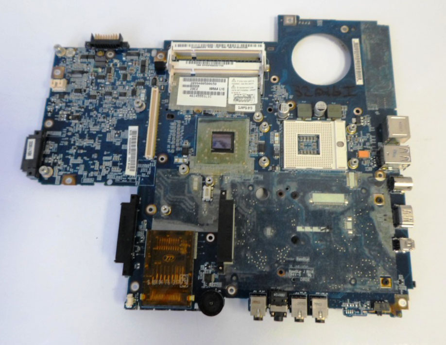 MOTHERBOARD FOR TOSHIBA P200 P205 Series K000054720 ISRAA LA-3441P 100% TSTED GOOD nokotion sps v000198120 for toshiba satellite a500 a505 motherboard intel gm45 ddr2 6050a2323101 mb a01