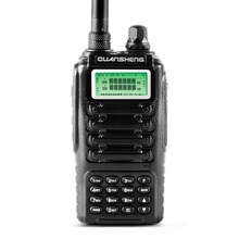 Dual band 2 way radio dual standby dual display QUANSHENG TG-UV2 with FCC CE certification Walkie Talkie FM: 88-108MHz 136-174MH