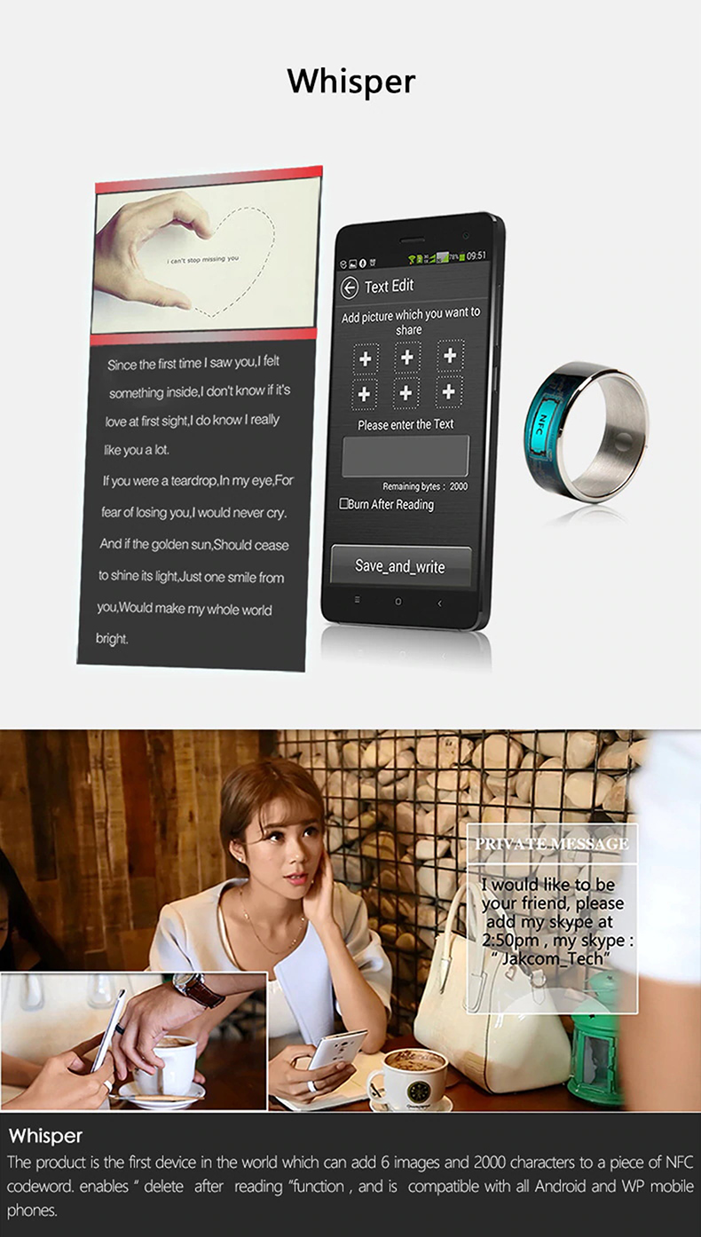 Jakcom R3F Smart Ring Waterproof for High Speed NFC Electronics Phone with aAndroid Small Magic Ring-21