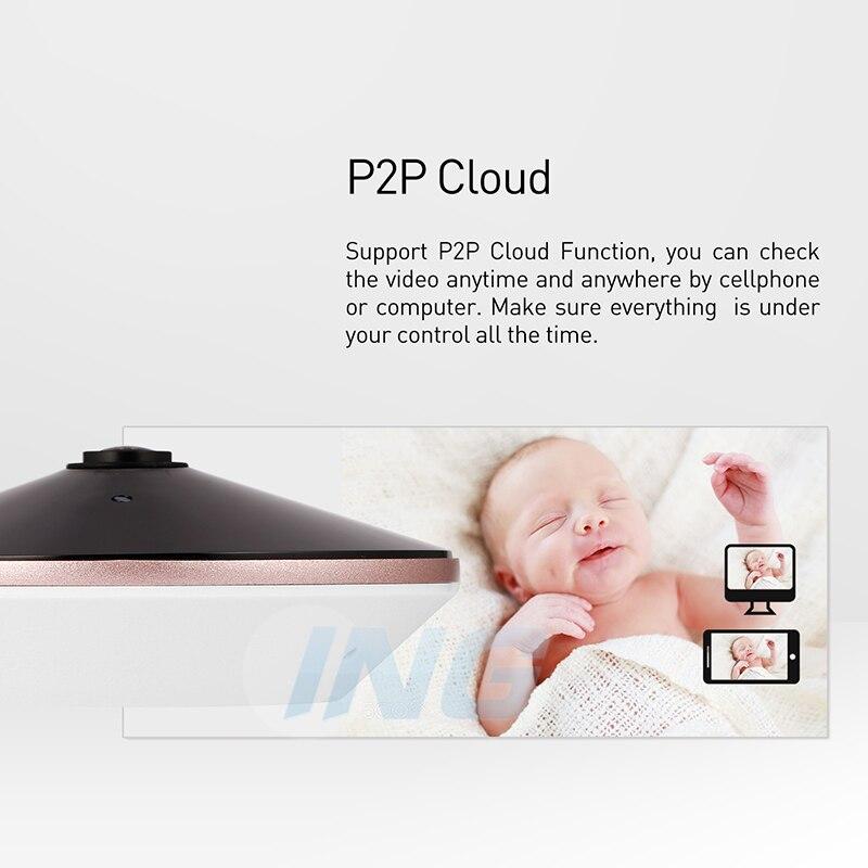 Image 4 - H.265 オーディオフィッシュアイ HD 3MP IP カメラ 1296 P/1080 P パノラマ LED  セキュリティナイトビジョン ONVIF CCTV ビデオ監視カムシステム    グループ上の  セキュリティ