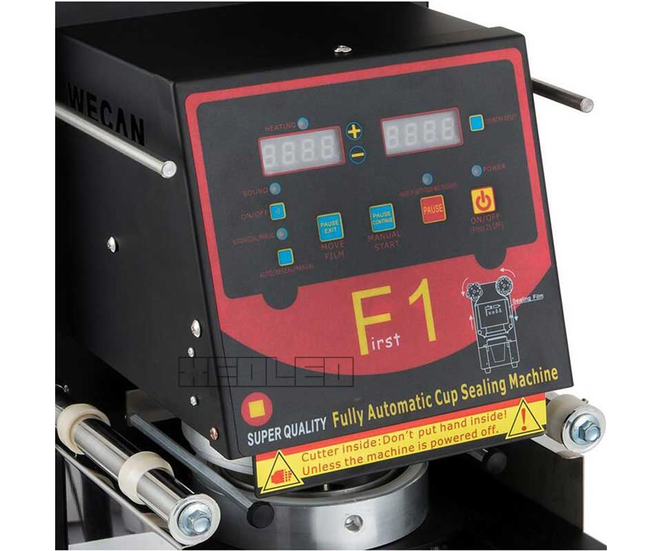 Automatic cup sealer(29)