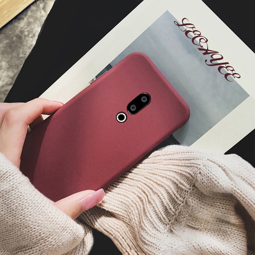 Mature and Elegant Matte Silicone Soft <font><b>Case</b></font> for <font><b>Meizu</b></font> 16th 16 16X 15 Plus Note 9 8 Protective Cover <font><b>Meizu</b></font> M8 lite M6 M6t <font><b>M6s</b></font> X8 image