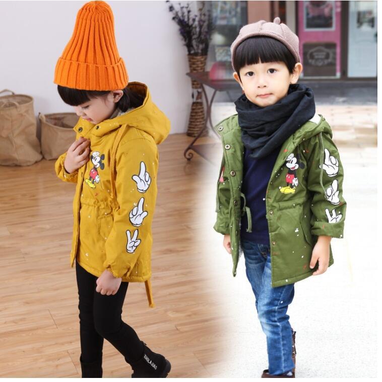 цена Free shipping Spring Autumn Jackets for Boy Coat Bomber Jacket Army Green Boy's Windbreaker Winter Jacket Kids Children Jacket