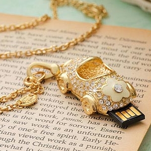 TRUE100% Jewelry Usb Flash Drive Flash Memory Stick Pendrive Gift Disk On Key Pen Drive Diamond Car 8gb 16gb 32gb 64gb Creativo