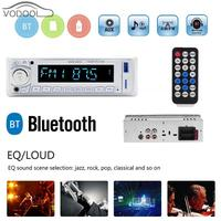 1 Din LCD Bluetooth Auto Car Stereo MP3 Player FM Radio BT Autoradio with Remote Controller Support USB Flash Disk AUX Play