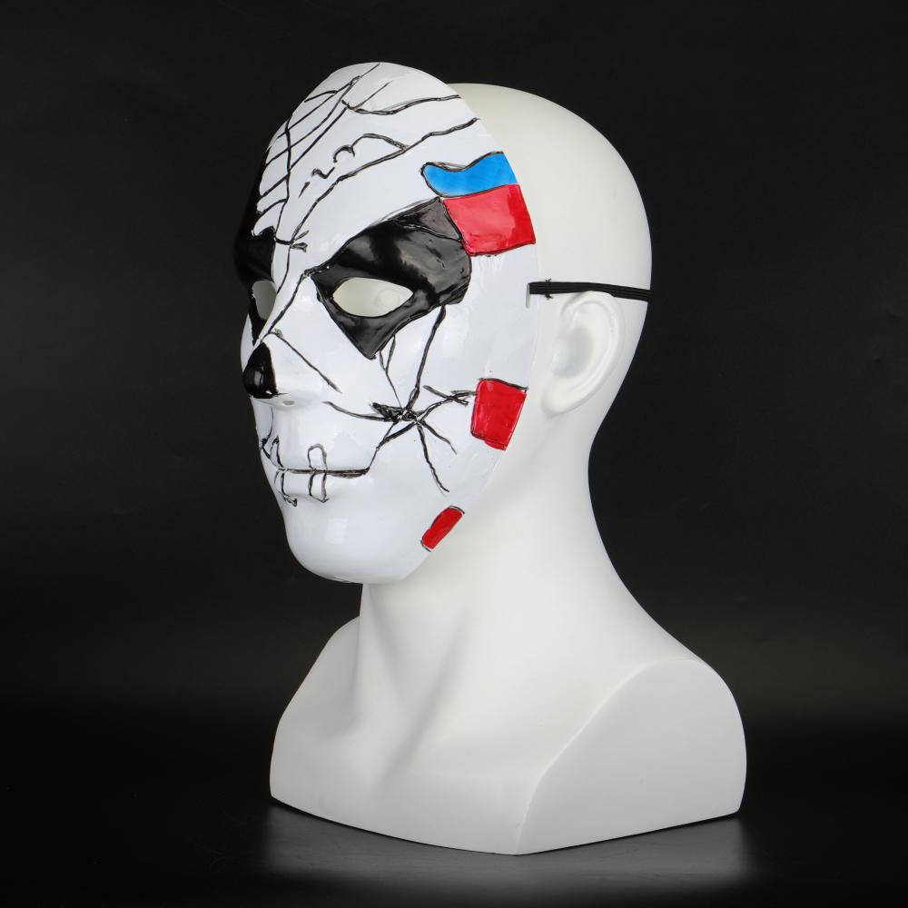 The Punisher 2 Billy Russo Cosplay Mask Plastic Costume Props Halloween Masquerad Mask Unisex Adult Coser  (6)