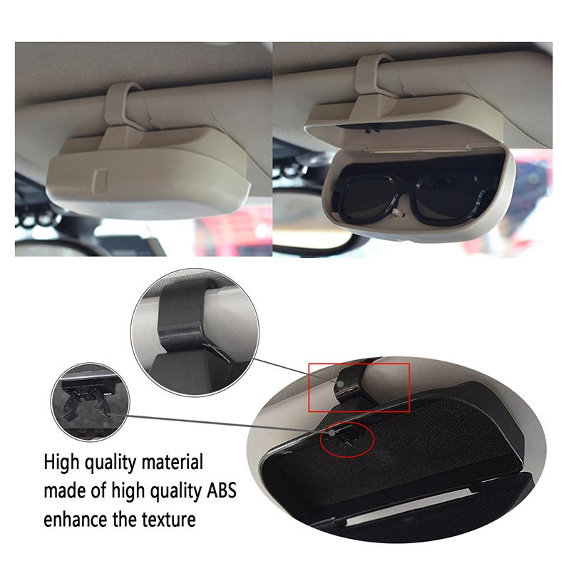 4720cb79110f Car Styling Sunglasses Holder For BMW E60 E90 X5 E39 E46 E36 F30 X6 X1 F10  E30 E34 E53 E87 X3 E92 M3 Z4 F30 E65 M M5 1 3 Series
