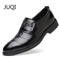 2018 Genuine Leather Men'S Dress Shoes Men Casual Shoes For Cow Leathe Plaid Loafers Moccasins Mens Fashion Oxfords Rubber Shoes
