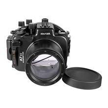 40M/130ft Meikon Waterproof camera Housing Case For Sony A7 II , A7R II 28-70mm