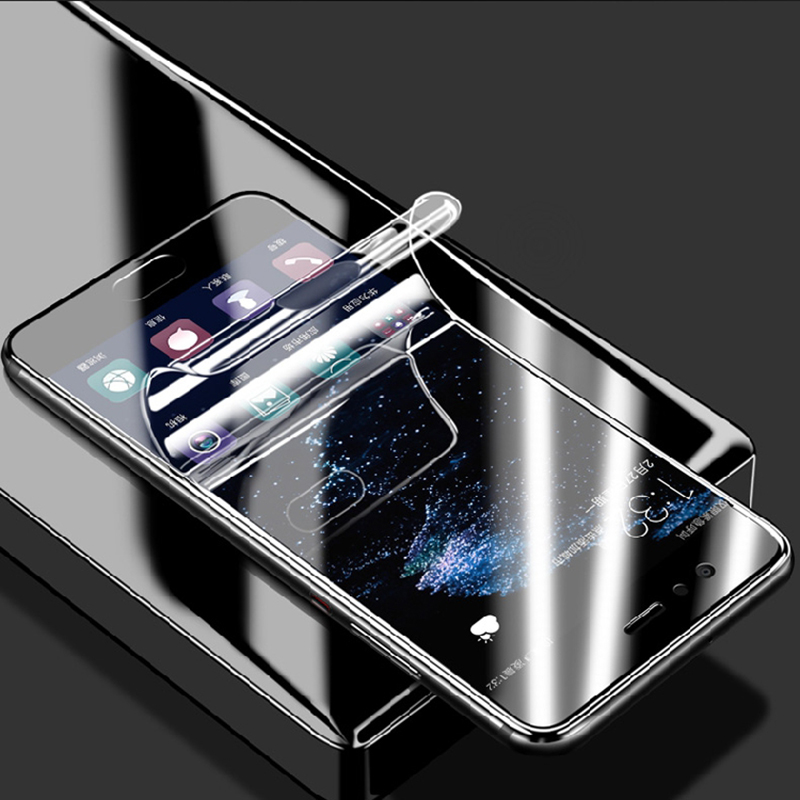 Galleria fotografica 3D Hydrogel Film Soft Screen protector For Samsung Galaxy A6 A8 Plus 2018 A3 A5 A7 2017 S7 Edge S8 S9 Plus (Not Tempered Glass )