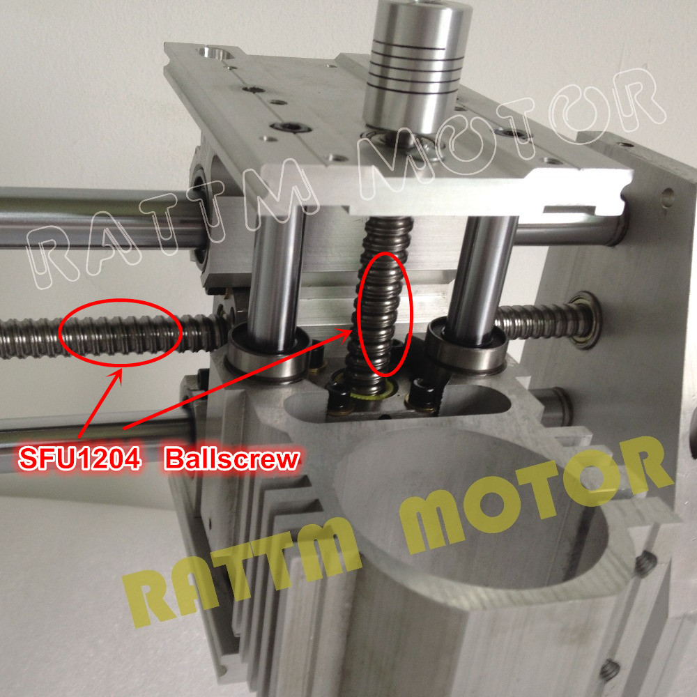 Из ЕС/без НДС 3040 фрезерный станок с ЧПУ механический шаровой винт комплект CNC рама из алюминиевого сплава для DIY пользователя