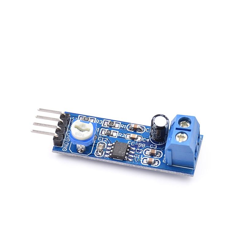 20pcs LM386 Audio Amplifier Module 200 Times 5V-12V Input 10K Resistance