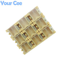 20 pcs DIY Electronic Kit Components Box Laboratory Storage Box IC SMT SMD White Yellow Blue Green Red 32.7*26*21.5mm