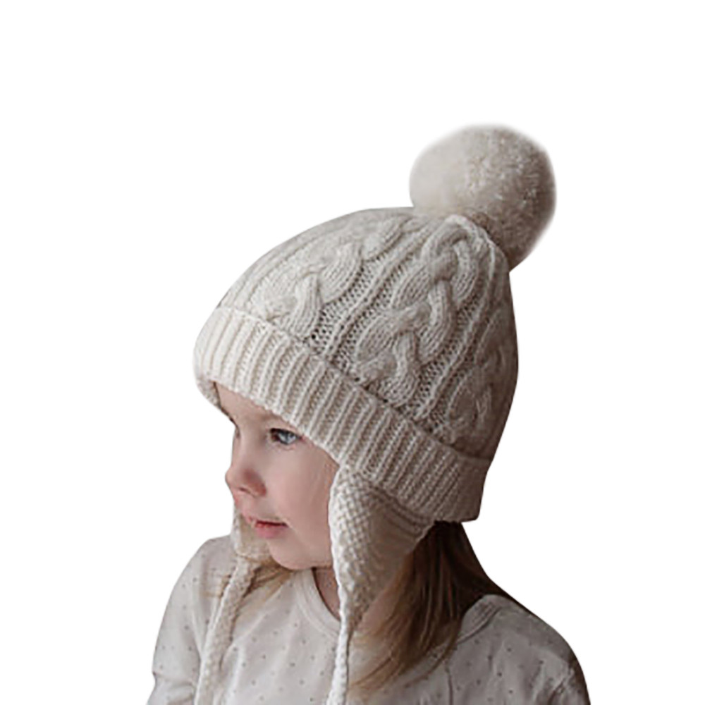 ARLONEET Autumn and winter warm and velvet boy/&girl hat Girls Boys Cartoon Cat Full Finger Wrist Warm Mittens Gloves L0922