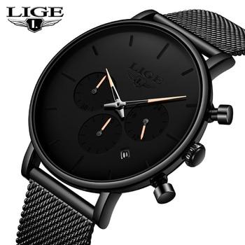 051f33a280c5 En este momento nuevos relojes para hombre marca de lujo cronógrafo  impermeable fecha Reloj de pulsera de moda Casual Reloj de cuarzo Reloj  Hombr