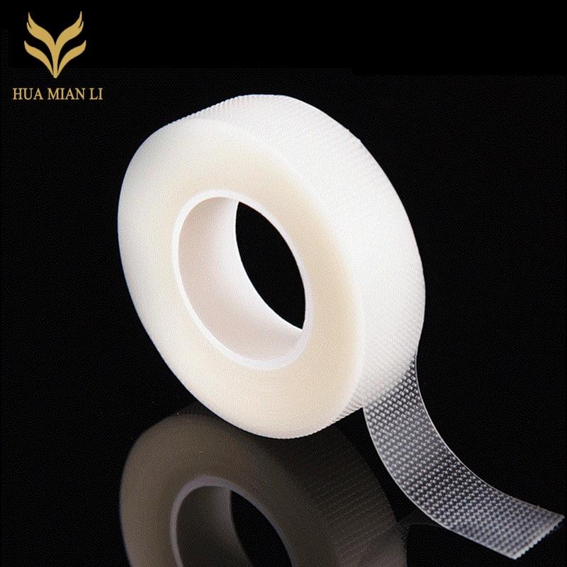 HUAMIANLI 6rolls Under Tape False EyeLashes Extentions Tools Eyelash Extension Supply Micropore polyethylene Medical