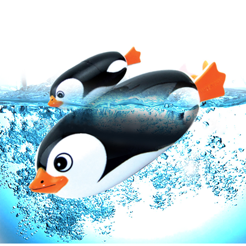Funny Electric Diving Toy Penguin High-strength Waterproof Toy Underwater Swimming Pool Toy Novelty toys