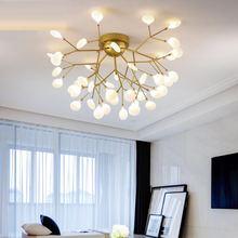 Современная потолочная светодиодная люстра освещение для гостиной