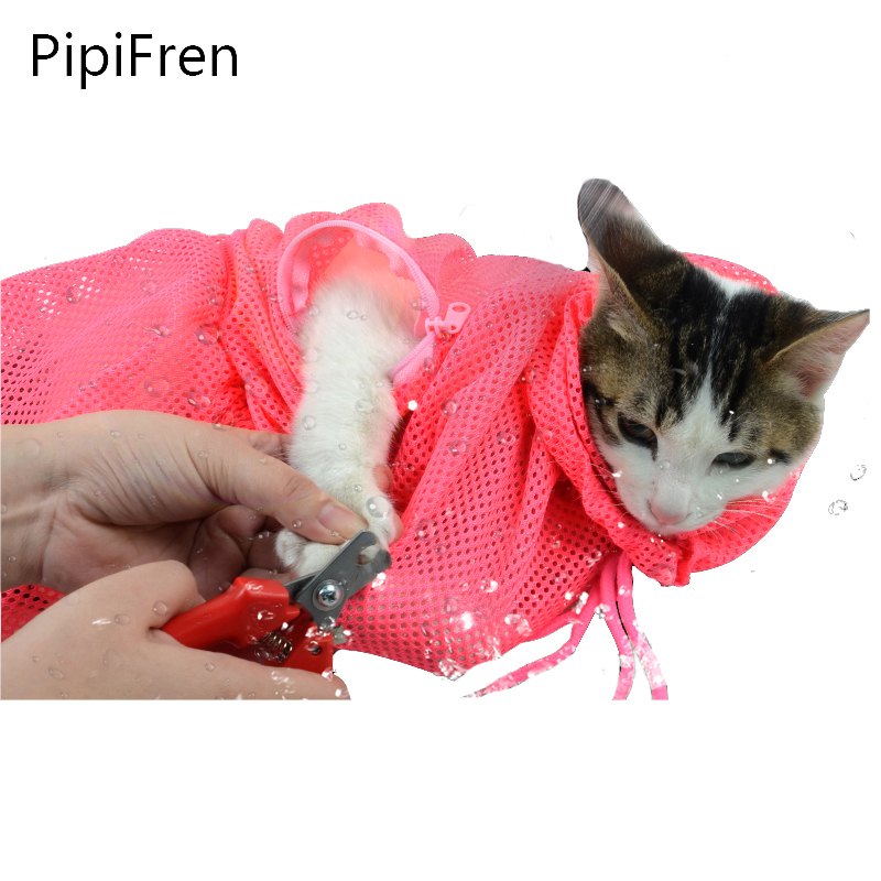 PipiFren Cats Grooming Bathing Bag Huisdieren Accessoires Benodigdheden Gratis verzending Multifunctionele chat