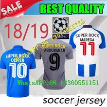 Thai quality jersey Porto soccer jerseys 1819MAREGA SILVA home away 3rd  2018 Porto FC soccer tracksuit Customized football shirt 095a62328