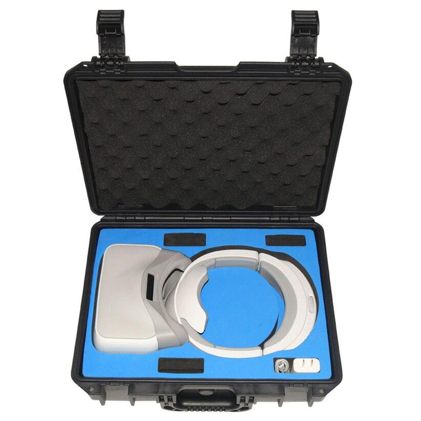 Hard Waterproof Handbag Cases Protective Case Carbon Hard Bag For DJI VR Goggles Futural Digital JULL8 nylon carrying storage bag handbag travel protective case for dji spark