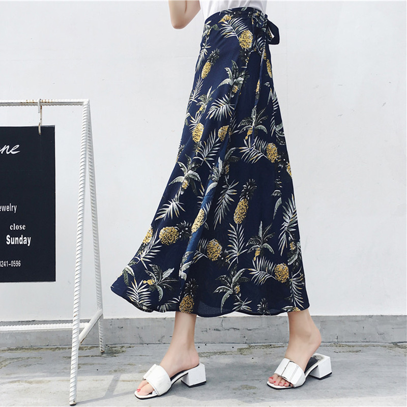 Boho Asymmetrical Chiffon Maxi Long Skirts 6