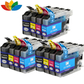 12 Pack Compatible Brother LC103 Ink Cartridge For DCP-J152W MFC-J245 MFC-J285DW MFC-J4310DW MFC-J4410DW Printer
