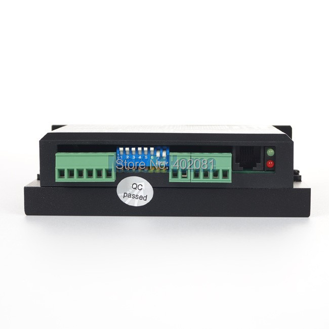 Leadshine DM856 CNC драйвер цифровой гибридный шаговый привод 80VDC/5.6A# SM020@ SD