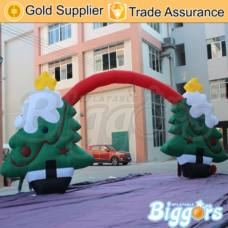 Inflatable Christmas Tree Arch Inflatable Archway Inflatable Advertising Arch For Sale