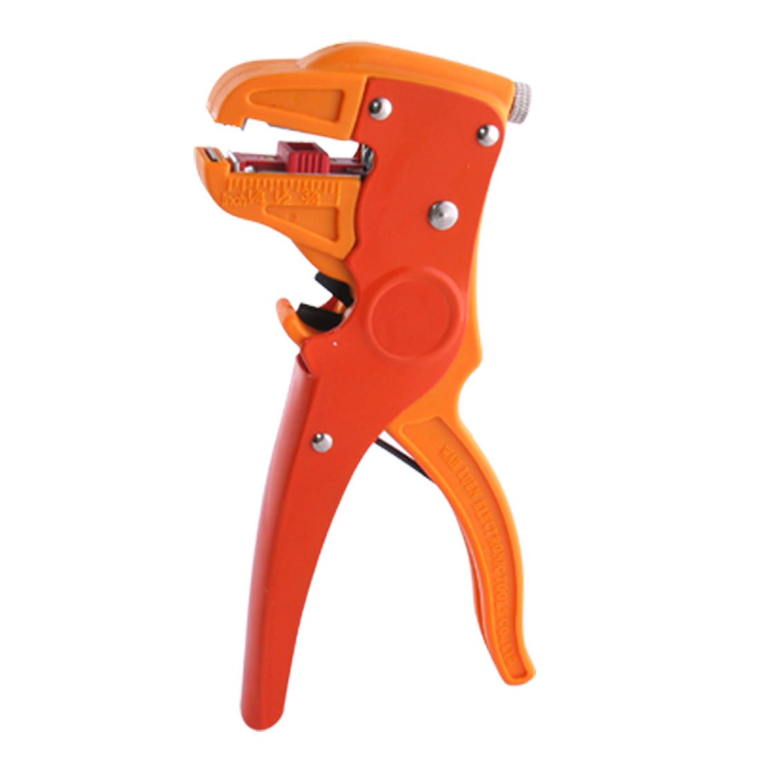 THGS Wire Cable Adjustable Stripping Cutting Cutter Tool Orange